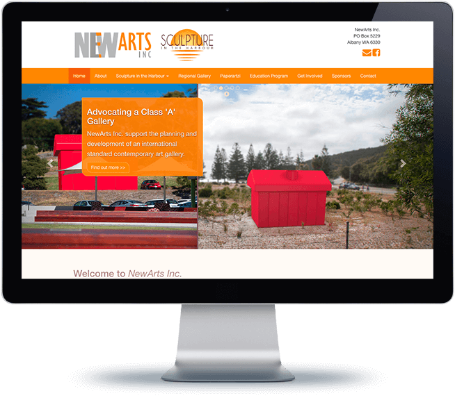 NewArts Inc. Home page